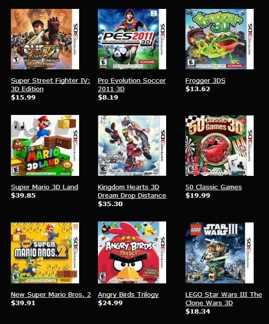 New Nintendo 3DS Games List