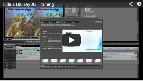 video training with 3dguy - bluray 3d edius
