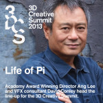 Ang Lee at 3D Creative Summit