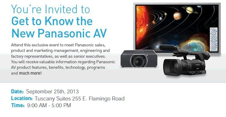 Get to Know the New Panasonic AV This September 25