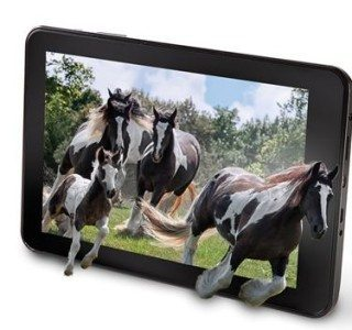 Hammacher Schlemmer Introduces The No Glasses 3D Tablet 3dguy